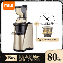 Cold-Press-Juice-Extractor Motor Auger Slow-Juicer 7lv MIUI Quiet Classic FILTERFREE