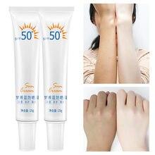 Protetor solar facial corpo clareamento sol creme protetor solar pele creme anti-envelhecimento óleo-controle hidratante