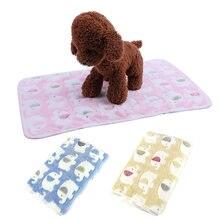 Одеяло для домашних животных супермягкий пушистый флисовый коврик
