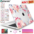 Floral Laptop Fall für Macbook Air 11 13 13 3 2020 Hartplastik Abdeckung Sleeve für macbook Neue Pro 12 13 15 A2251 A2289 A2179A2141