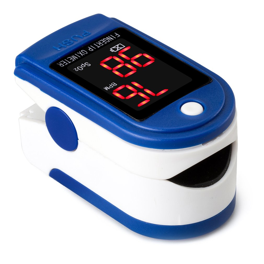 Finger Pulse Oximeter Finger Clip Prevention Supplies Heartbeat Pulse Oximeter Heart Rate Monitoring Saturation Monitor With