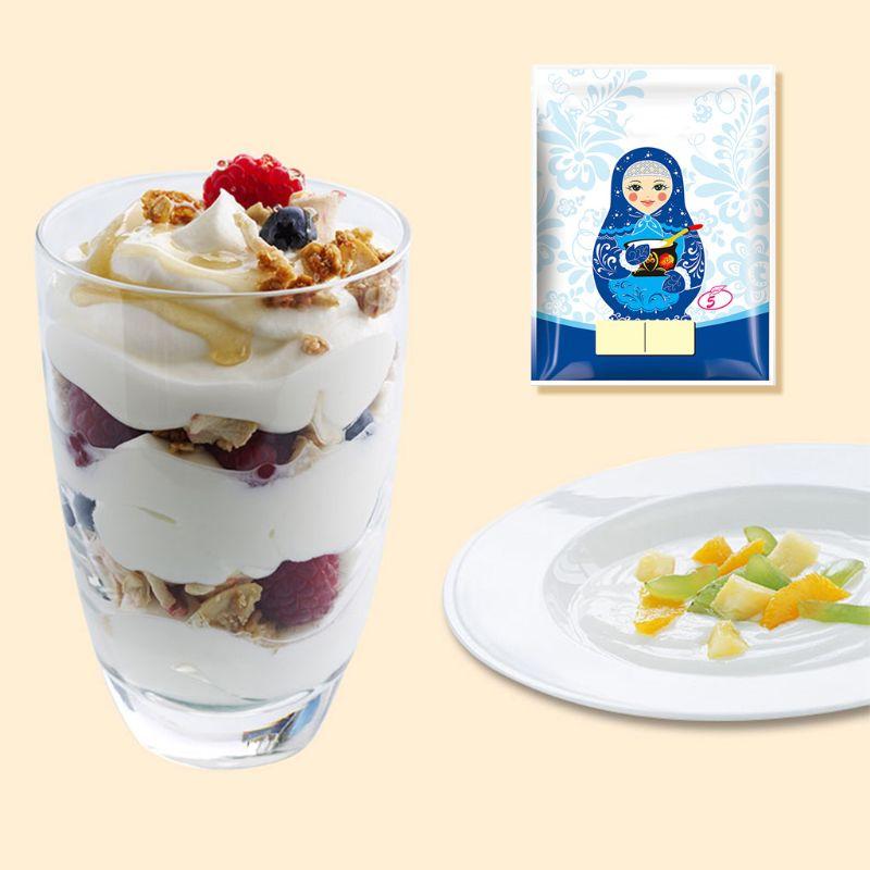 Yogurt Yeast Starter Natural 5 Types of Probiotics Home Made Lactobacillus Fermentation Powder Maker Homemade Kitchen