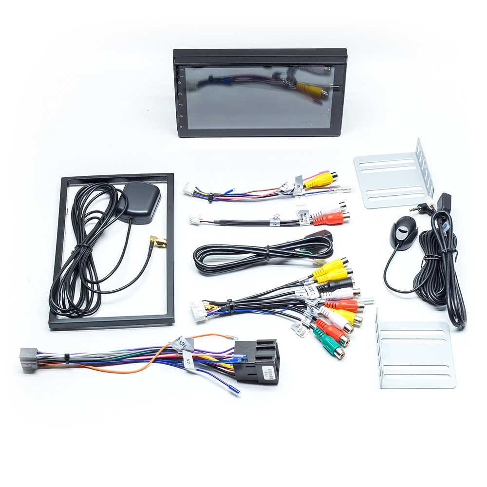 AutoRadio 2 Din アンドロイド 9.0 車の gps ナビゲーションユニバーサルマルチメディア NO DVD プレーヤーステレオオーディオヘッドユニット日産 WIfi 2 グラム RAM