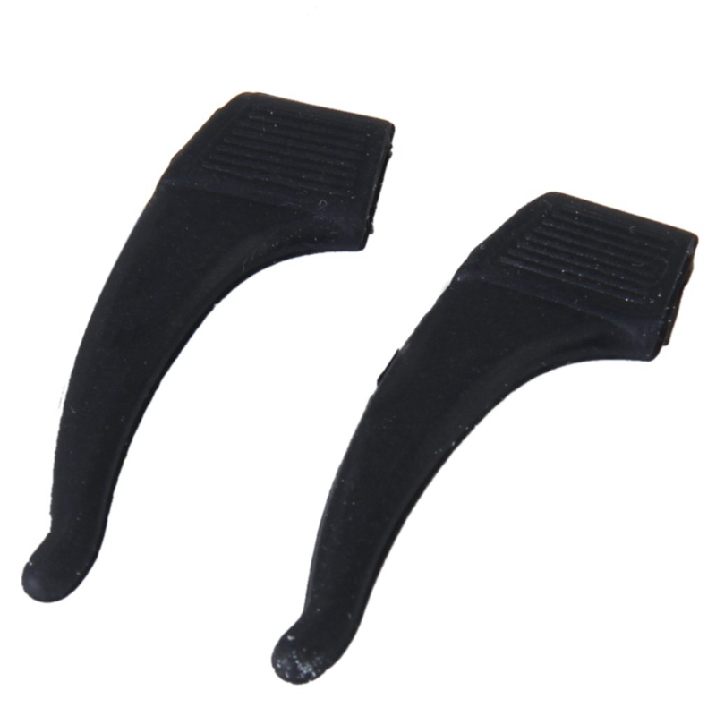 SEWS- 1 Pair Eyeglasses/Sunglasses/Spectacles Eyewear Ear Hook Lock Tip Holder---Black