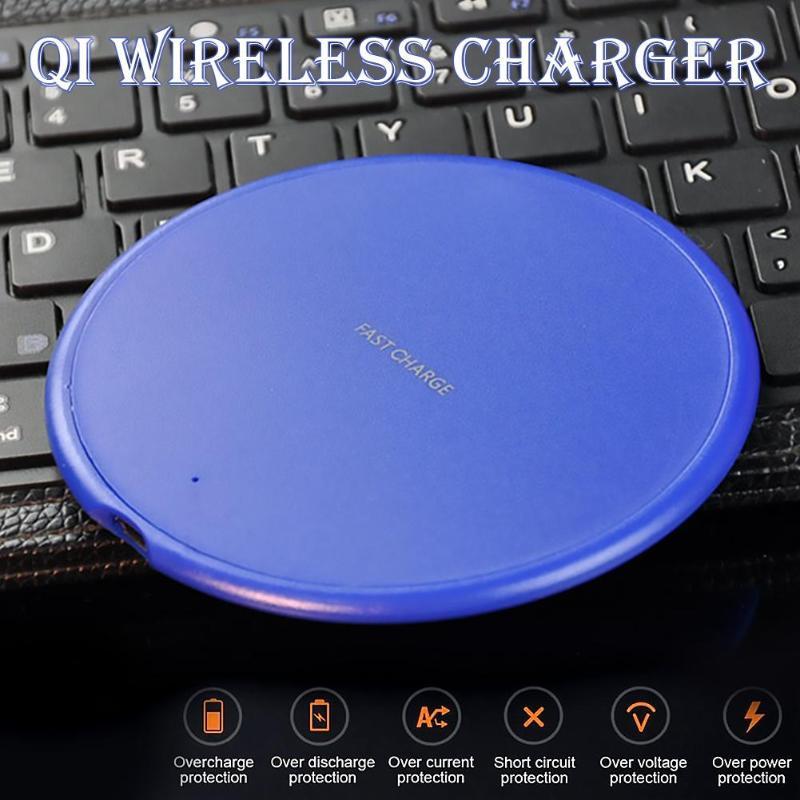 4 в 1 Беспроводное зарядное устройство для iPhone X Xs MAX XR 8 plus Быстрая зарядка для samsung S8 S9 Plus Note 9 8 USB зарядное устройство для телефона - 2
