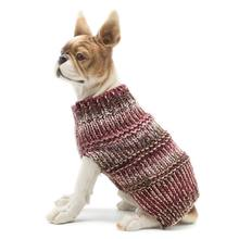 Dog Sweater Pet Puppy Holiday Jumpers Pullover Twist Autumn Winter Warm Hemp Cats Dogs Winter Clothes Supplies(China)