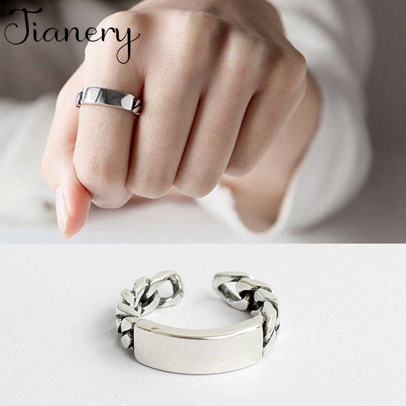 JIANERY Bohemian แฟนซี 925 เงินสเตอร์ลิง Nice แหวนผู้ชายแหวนหมั้นแหวนสาวของขวัญ Anillos 2019