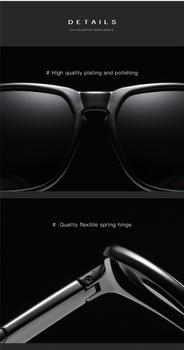Classic Best Driving Glasses Polarized Sunglasses For Men 100% UV Protection Unbreakable Frame 2