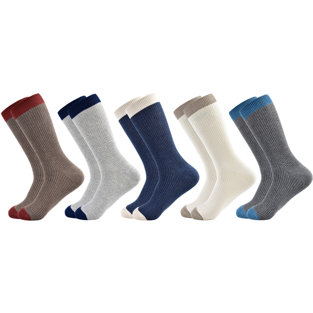 Men Sock Harajuku Standard Classic  Socks New Socks Business Casual Cotton Gifts For Socks Men