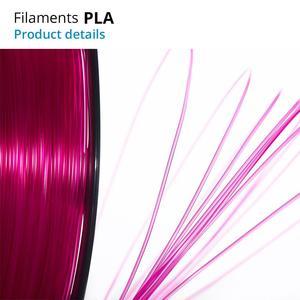Image 3 - TOPZEAL 3D Printer PLA Filament 1.75mm Filament Dimensional Accuracy +/ 0.02mm 1KG 343M 2.2LBS 3D Printing Material for RepRap