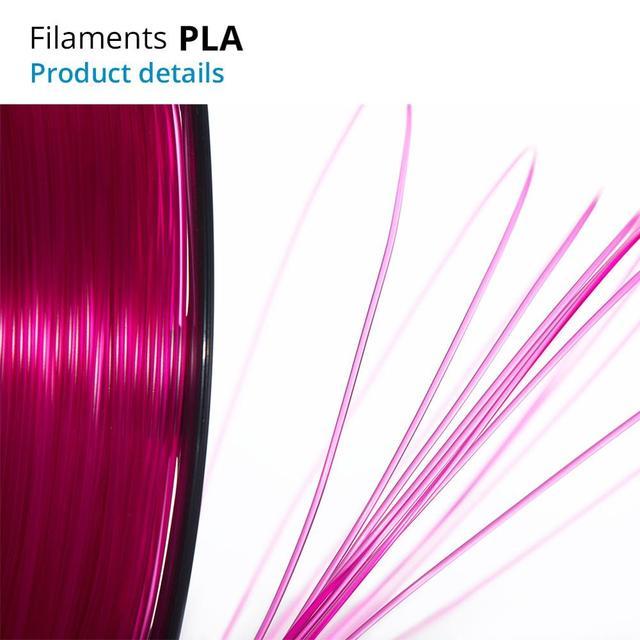 TOPZEAL 3D Printer PLA Filament 1.75mm Filament Dimensional Accuracy +/-0.02mm 1KG 343M 2.2LBS 3D Printing Material for RepRap 2