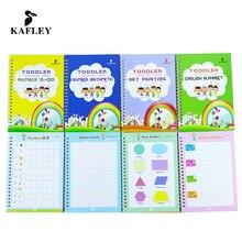 Book Calligraphy Handwrite Practic Children for Baby-Supplies Reusable 4/3d