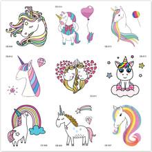 LOLEDE 1pcs Kids Cartoon Unicorn Color Paper Toys Children Art Craft DIY Educational Toys Craft Toys tanie tanio 5 ~ 7 Lat 8 ~ 13 Lat 14 Lat i up Dorośli Zwierzęta i Natura Chiny certyfikat (3C) Akwarela papieru