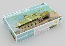 цена на Trumpeter 01528 1/35 Russian BMP-3 IFV Infantry Fighting Vehicle Car Military Display Toy Plastic Assembly Building Model Kit