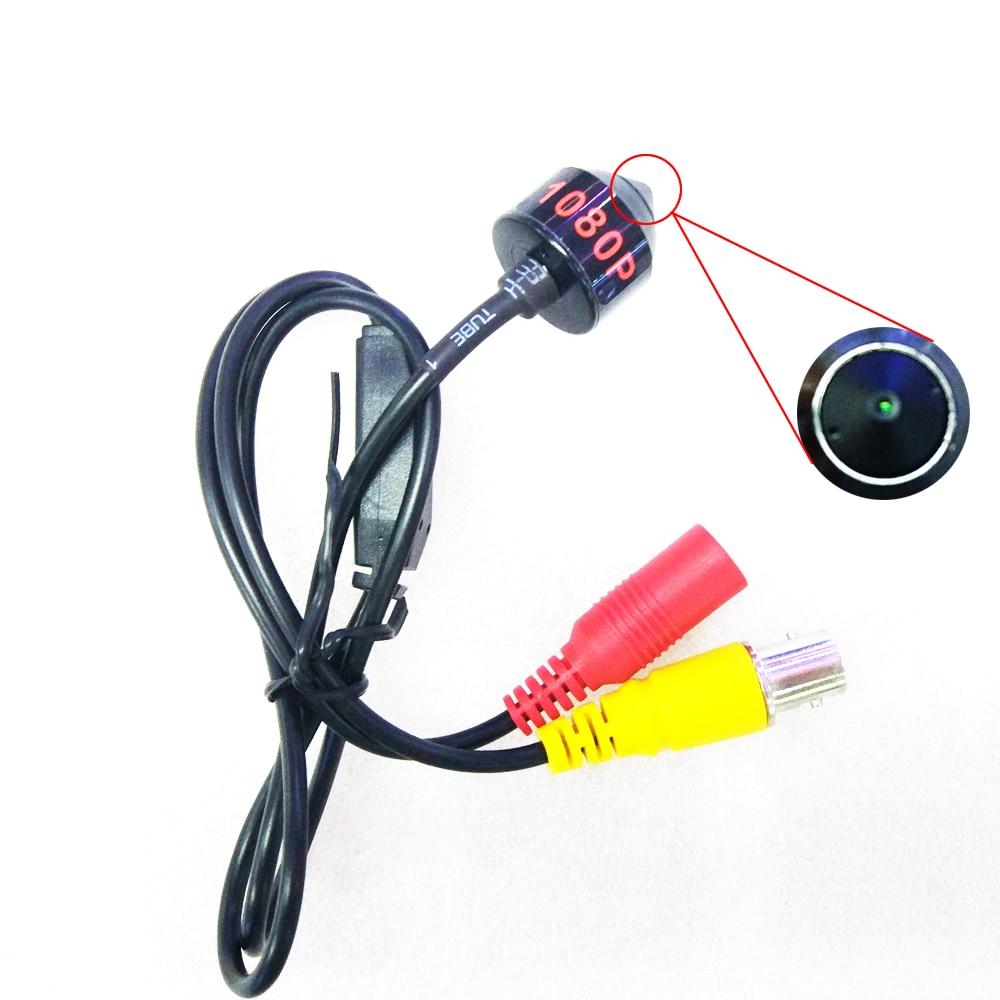 AHD 1080P Mini Camera HD Bullet Camera Metal Housing BNC Port for CCTV AHD DVR SystemSurveillance Cameras   -