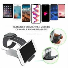 Two-in-one fast charging wireless charger for iPhone, Samsung, Buds, Apple Watch 4, 3, 2, Airpods Pro,