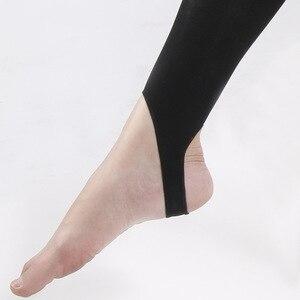 Image 2 - נשים רפואי דק רגל לחץ מפולח גרביונים רגל צעד חזק ישבן וגרביונים צורה ולהרים שלך ירכי S M L XL