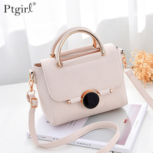 Women PU leather Handbag Flap Bags Crossbody Shoulder Messenger Bag Ptgirl womens handbags bolsas femininas sac à main femme Bag womens crossbody bag small flap pu leather v o a designer lady shoulder bag female luxury handbag sacs main femme 2019 bandolera