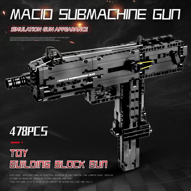 MOULD KING 14012 The Ingram M10 Submachine Gun Model Building Blocks