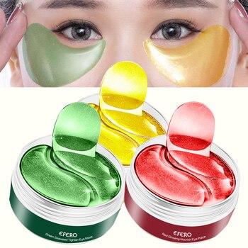 Crystal Collagen Eye Mask Seaweed Moisturizing Gel Eye Patch Dark Circles Anti Aging Wrinkle Remove Eye Mask for Face Mask