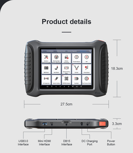 Image 4 - XTOOL X100 PAD3 SE With KS 1/KC501 Infrared Key Full Systems OBD2 Key programmer Diagnosis Scanner Tools  For BENZ Free Update