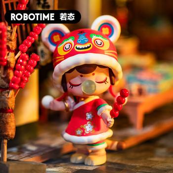 Robotime lalki zabawki figurki akcji starożytne chińskie piękności miłość historia śliczne Elfin pudełko z niespodzianką dzieci dziewczyna urodziny prezent tanie i dobre opinie CN (pochodzenie) Model 77-105mm Wyroby gotowe Second edition Unisex 8 lat Nanci Zapas rzeczy Toys Toy Girls Toy Blind Box