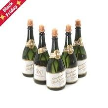 5 шт. бутылка для шампанского DIY самополивающиеся бутылки для мыльных пузырей любимые классические игрушки для детей белые пузыри для торта лучшие подарки на день рождения