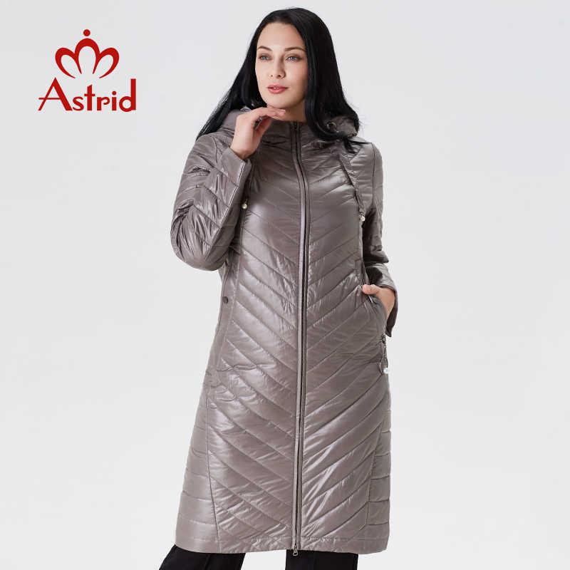 2019 ฤดูหนาวหญิงแจ็คเก็ตยาวผ้าฝ้ายผู้หญิง Big Coat Hooded SLIM FIT Outwear Parka manteau Femme hiver ยูเครน PLUS ขนาด AM2233