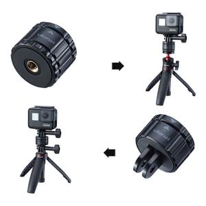 Image 5 - VIJIM GP 2 Aluminum GoPro Quick Release Mount Clip Convert Adapter for GoPro 8/7/6/5 DJI Osmo Action , Action camera Accessories