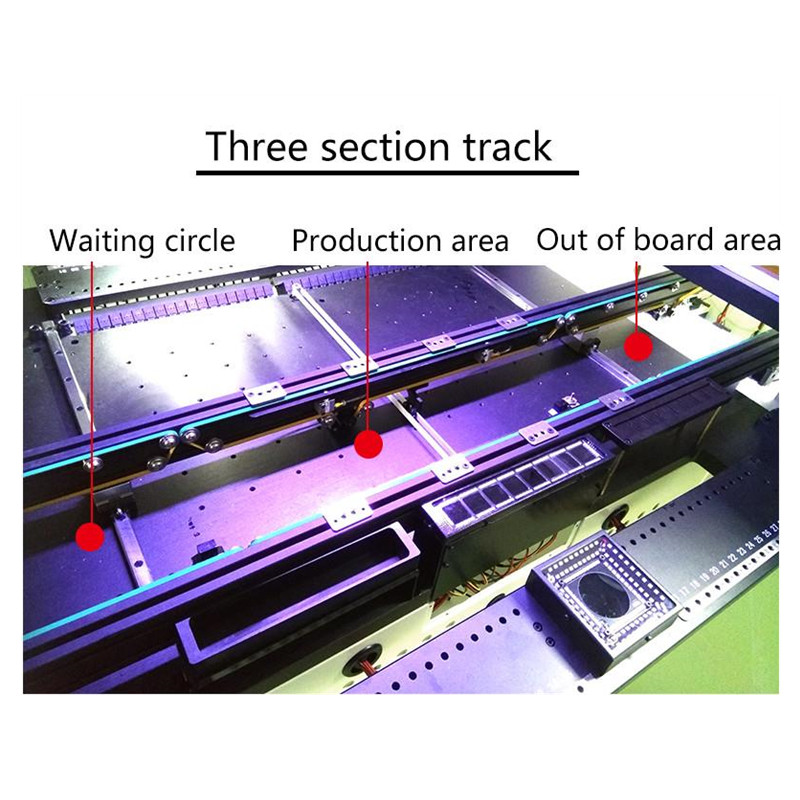 Tools : HD Camera YX SMT880 Electronic SMT Production Line Automatic  SMT Pick Place Machine With 8 Placements Heads Available