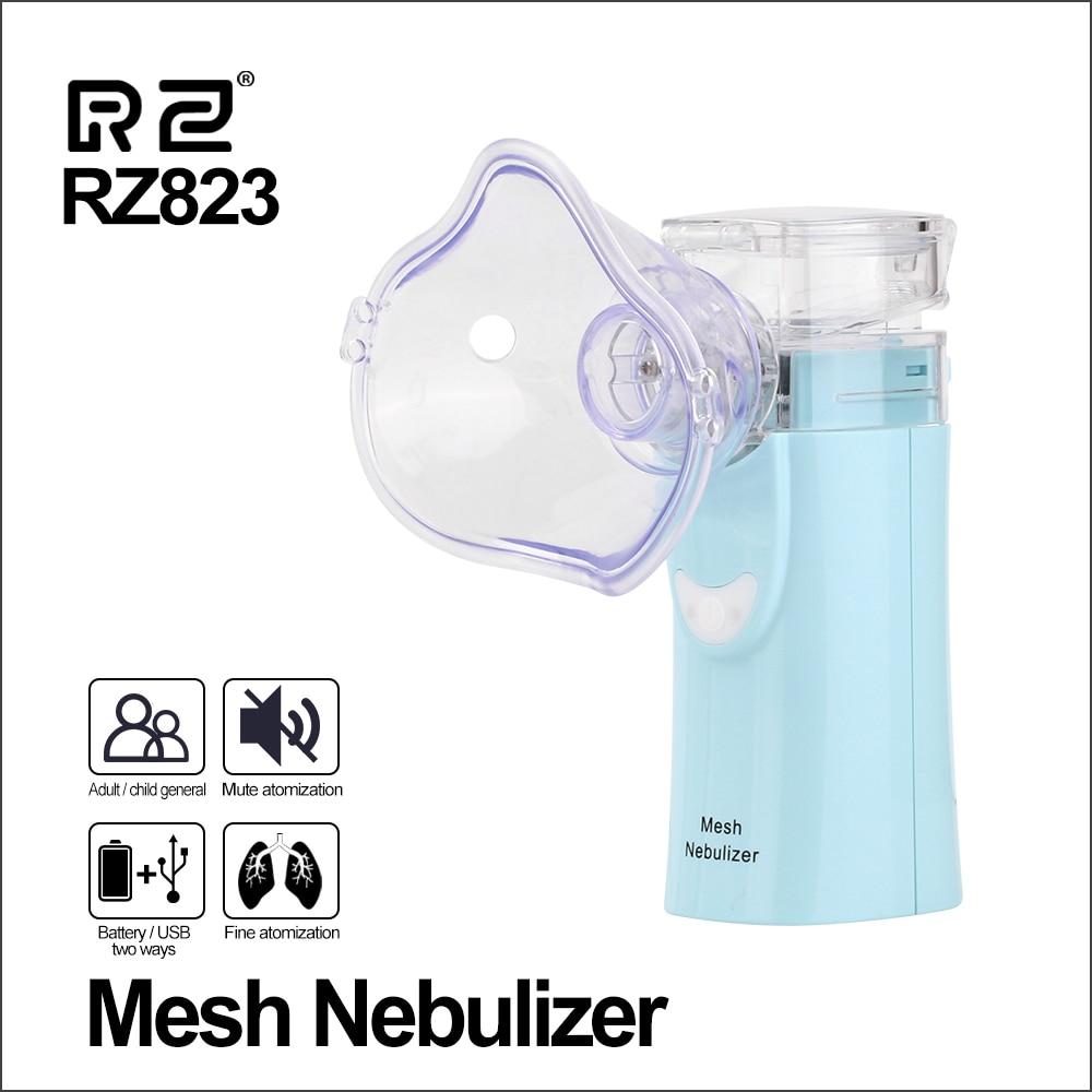RZ Health Care Mesh Nebulizer Handheld Home Children Adult Asthma Inhaler Mini Nebulizador Care Inhale Ultrasonic Nebulizer