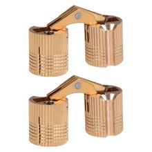 2pcs Durable Hidden Creative Shelf Hinges Furniture Hardwares Cabinet Door Hinge Flap Hinges for Use Home Door