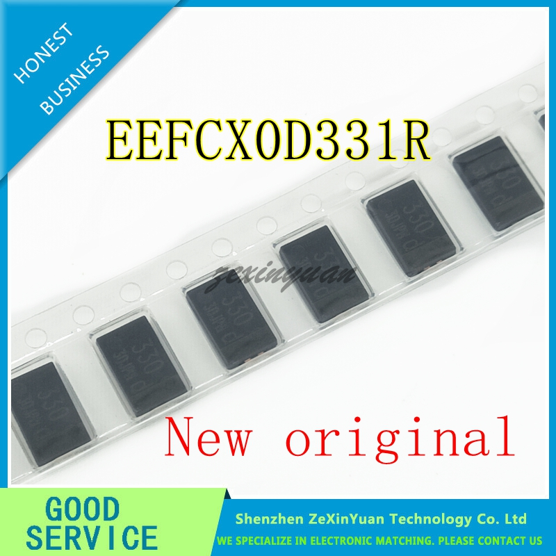10PCS/LOT SMD Tantalum Polymer Capacitors,polymer Capacitance,EEF-CX0D331R EEFCX0D331R 330UF 2V 2.5V