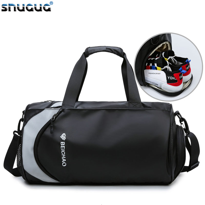 New Outdoor Sports Bags Shoes Dry Wet Women Gymtas Yoga Bolsa Men Gym Bags For Training Bag Tas Fitness Travel Sport Handbag