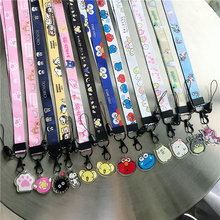 Phone Lanyard Cute Cartoon Neck Strap Lanyards for keys ID Card Gym Mobile Phone Straps USB badge holder DIY Hang Rope Lariat