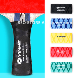 2pcs YINHE galaxy overgrip for table tennis racket handle tape heat-shrinkable ping pong set bat grips sweatband Accessories(China)