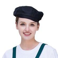 Новая шляпа шеф-повара Reataurant одежда для повара в отельной кухне колпачок шеф-повара униформа Рабочая одежда принты отель головные уборы официантов приготовление пищи шапочки барбекю шапочки шеф-повара