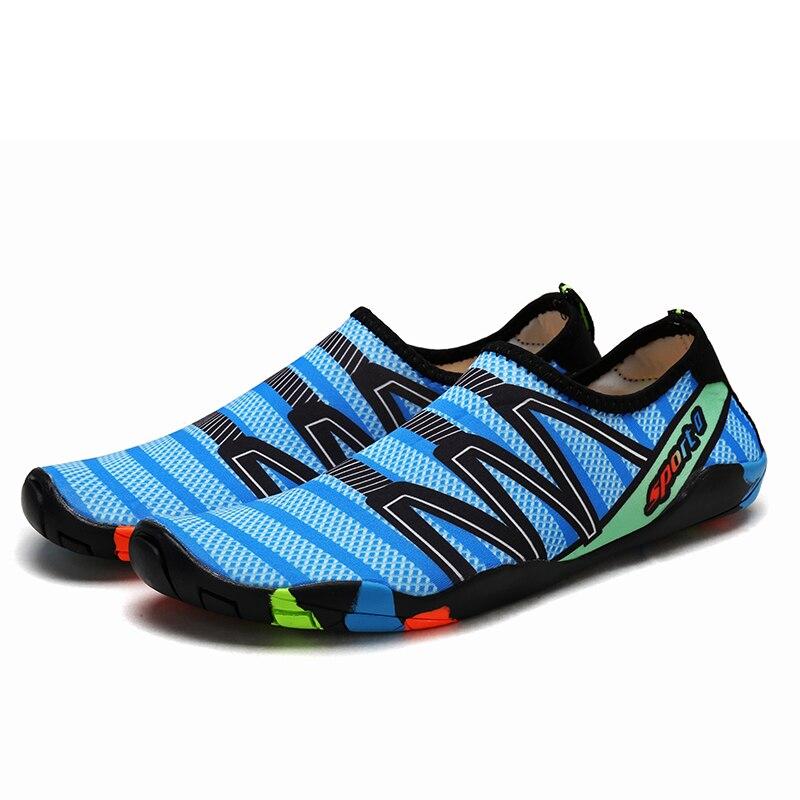 Bufeipai mulher masculino sapatos de água secagem
