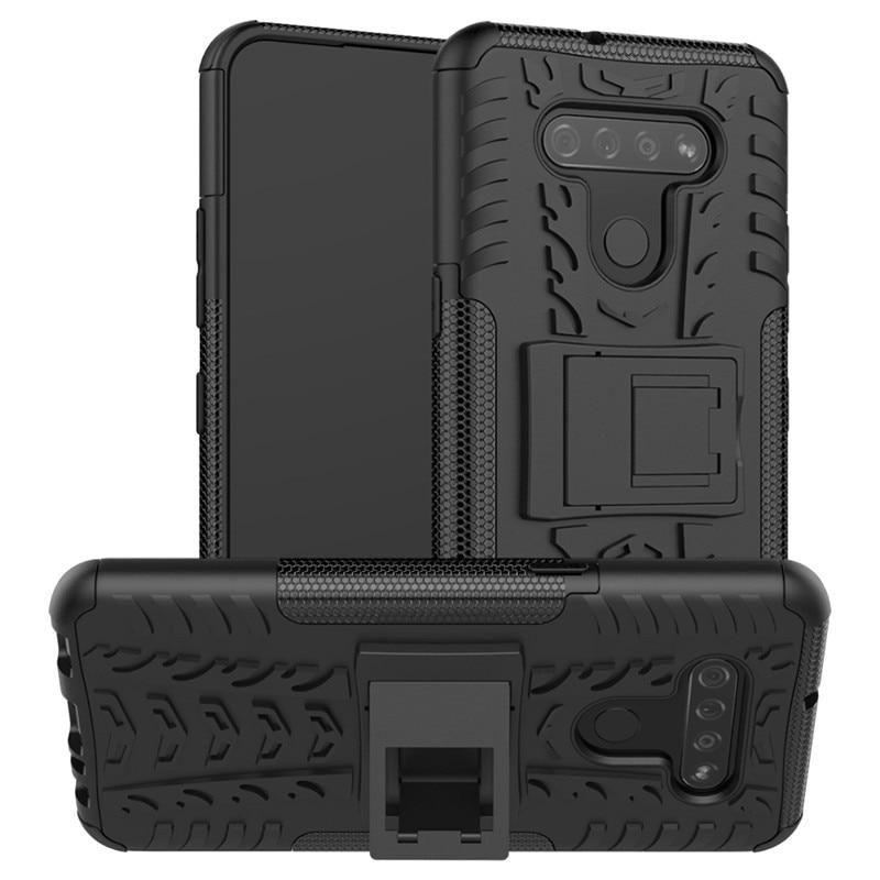 Armor Holder Case For LG K51 Case K8 2017 Cover Anti-Knock TPU & PC Protective Phone Bumper For LG K4 2017 Funda V3 X300 M200N