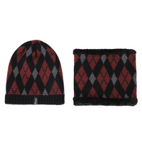 2020 fashion Knitted hat and scarf