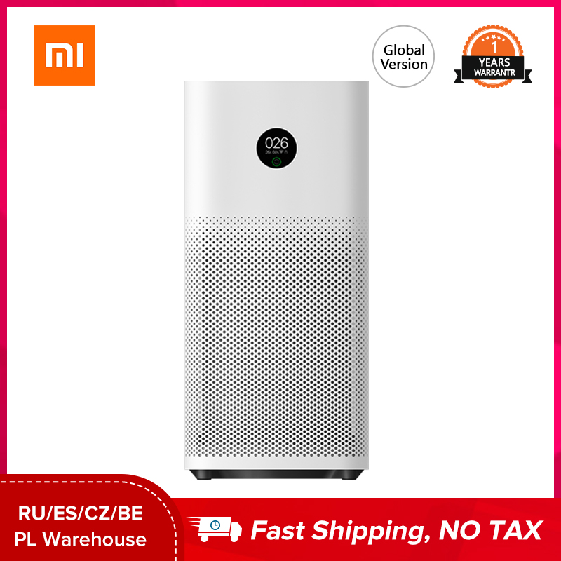 Xiaomi Mijia Mi Air Purifier 3H Sterilizer Addition Formaldehyde Wash Cleaning Intelligent Household Hepa Filter Smart APP WIFI|Air Purifiers| - AliExpress