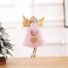 2020 Latest Christmas Angel Dolls Cute Xmas Tree Ornament Noel Deco Christmas Decoration for Home Navidad Kid Gift #0904(China)