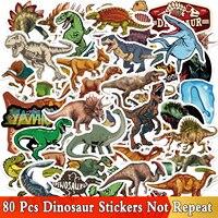 80 PCS Nette Dinosaurier Cartoon Aufkleber Anime Aufkleber Aufkleber Pack auf Laptop Gepäck Notebook Auto Gitarre Tasse Fahrrad Wasserdicht Spielzeug