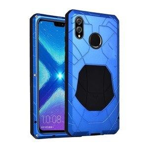 Оригинальный чехол IMATCH для телефона Samsung Galaxy A50, A70, A80, A90, жесткий алюминиевый металлический чехол из закаленного стекла, сверхпрочный, ударо...