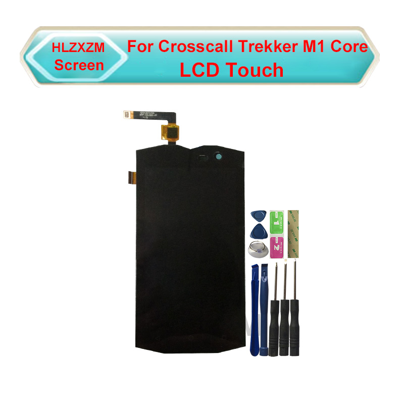 For Crosscall Trekker M1 Core LCD Display With Touch Screen Digitizer Assembly Replacement With Tools