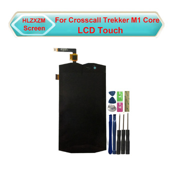 For Crosscall Trekker M1 Core LCD Display With Touch Screen Digitizer Assembly Replacement With Tools tested ok for sharp z3 lcd display with touch screen digitizer assembly replacement with tools 3m sticker