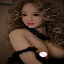 Sekspop 160Cm #40 Top Kwaliteit Mooie Sexy Vrouw Sex Robot Volledige Tpe Met Metalen Skelet Liefde Pop voor Mannen Sex Toys Voor Man