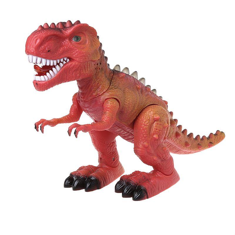 Electric Light Dinosaur Up Walking Roaring Toy  For Kids Children Christmas Gift 634F