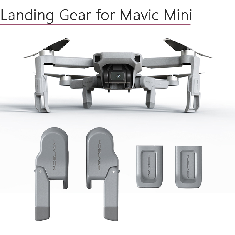 Adjustable Shock-absorb Landing Gear Extended Legs Heightened Support Protector Extensions For DJI Mavic Mini Drone Accessories