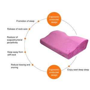 Image 3 - Profesyonel yastık kirpik uzatma salonu greft kirpik uzatma yastık bellek flanel yastık